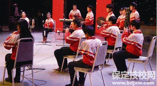 保定艺术学校器乐表演专业